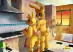 Cooking at the evening [ Springbonnica ] OTP by Hiyoko-little-chick