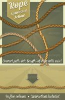 Photoshop Rope generator by Jeremychild