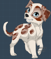 Dog adopt 08 OPEN by TranquilityBlue