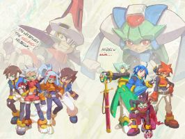 MegaMan ZX Advent Wallpaper by Rei-Kibou