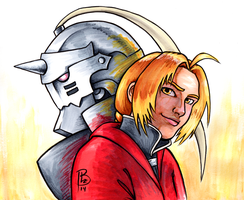 Elric Brothers by Shestval