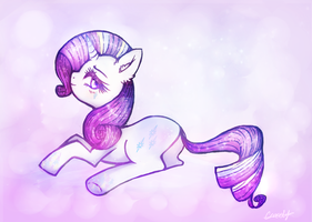Rainbow Power Rarity by crocelif