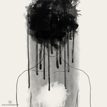 depression: emptiness by stvn-h