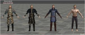 Dragon Age II: Anders Model Pack by Berserker79