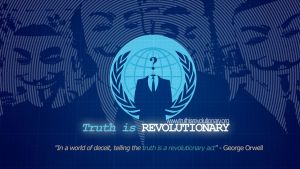 Truth is REVOLUTIONARY by AnonymousArtwork