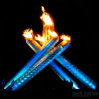 EXT - Olympic Flame - Night by Mark-Ingram