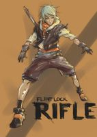 rifle by AspartameChild