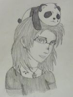Meeee with panda by Ambix777