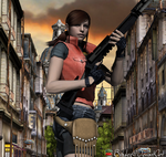 Claire Redfield Render by bstylez