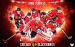 Blackhawks 2015 Playoffs Wallpaper by AMMSDesings