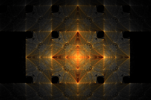 Square Star fractal by Swingerzetta