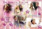 Damon and Caroline TVD by lalita23