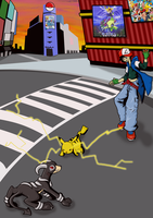 TWEWY style Pokemon Battle by Shulky