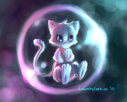 Mew by AgentWaterlemon
