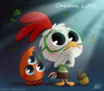 50ChibisDisney: Chicken Little by princekido