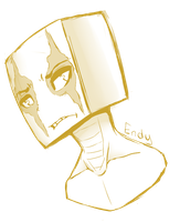 Endy Headshot by Late-Night-Cannibals