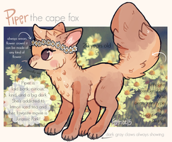 Piper reference 2015 by foxtribe
