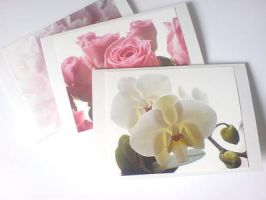 Flower notecards by KalaArt