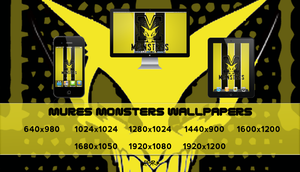 Mures Monsters Wallpapers-V2 by pasar3