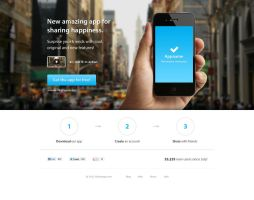 Product page template for iPhone app by alesnesetril