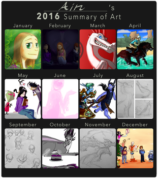 2016 Summary of Art by Ain-Individual