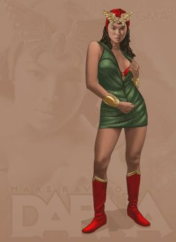 Angel Locsin as DARNA by Roderic-Rodriguez