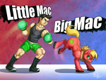 Little Mac vs Big Mac by Tsitra360