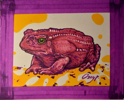 Toad Toad by Oscyp