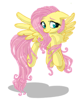 Fluttershy ::WITHOUT BACKGROUND: by Pauuh