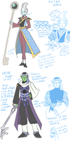 kh!au: whis and piccolo (version 2) by ghostmarch