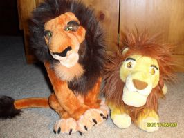 WDW Mufasa and Scar by Nostalgic90s