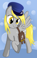 Mailmare Derpy Hooves by Fethur