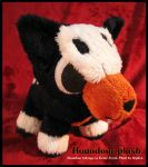 Houndour plush by Siplick