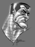 Colossus warm up sketch by MBorkowski
