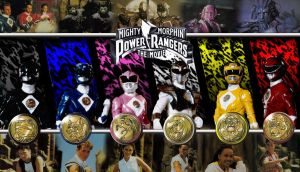 MMPR the Movie Wallpaper by scottasl