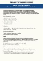 Teaching Assistant Resume Sample by resume-writing