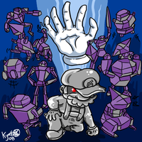 Master Hand and Company by Kyattsuai7
