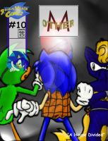 Other-M: Issue 10 Cover by anotherblazehedgehog