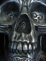 skull by circusspider-stock