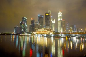 Singapore Skyline by misspaul