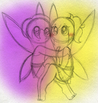 Tatl and Tael - Majora's Mask Ending by PuccaFanGirl