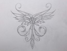 Air Force tattoo sketch by chrisbonney