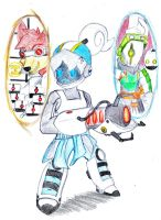 SK Crossover: Portal by swampster12