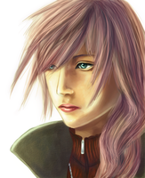 Lightning - FF XIII by GlassPanda