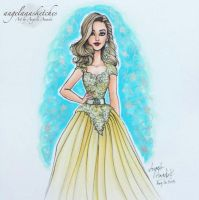 Alison Dilaurentis Fashion Illustration by angelaaasketches