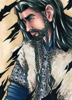 Card No. 49 - Thorin by NOOdElARtS
