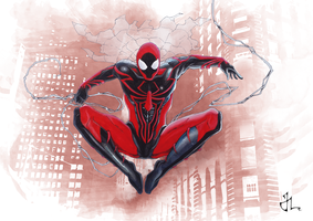 Spider-Man Unlimited by aquaticpig