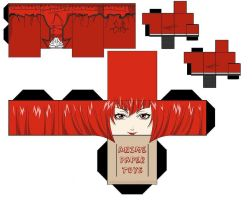 Madam Red Papercraft 1 by lovekity19