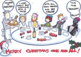 christmas dinner by prisonsuit-rabbitman