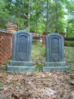 Metal Grave Stones by seiyastock